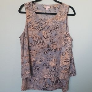 Juicy Couture sleeveless top XL